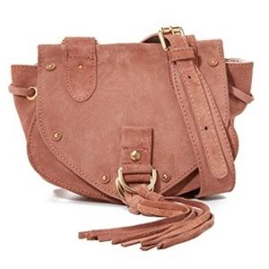 SEE BY CHLOÉ Collins Leather & Suede Messanger Bag